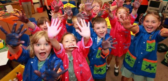 Children enjoy getting creative at the new Create Club launching in Devon.