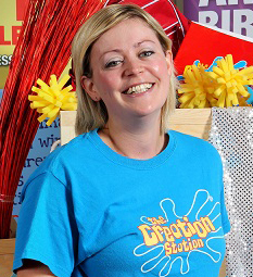 Penny Gilbert inspire imaginations in Oxford with her own Creation Station Franchise