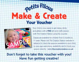 The Creation Station and Petit Filous and Frubes