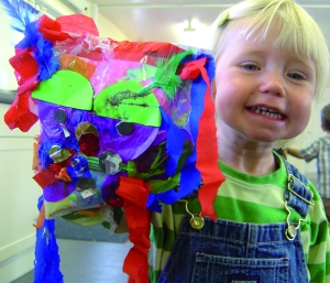 Exploring Scrunchy, Lumpy and Bumpy with  Creation Station Little Explorer Classses