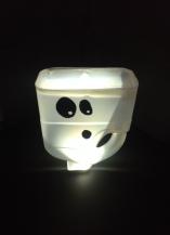 Spooky lantern and treat catcher